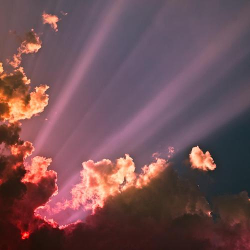 Rays from heaven wallpaper