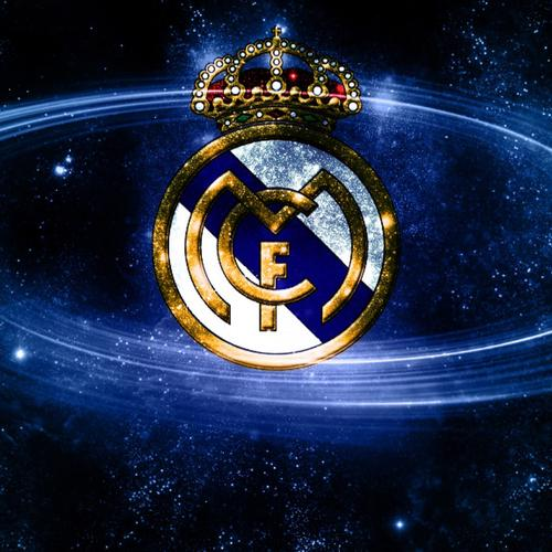 Logotipo Real Madrid papel de parede