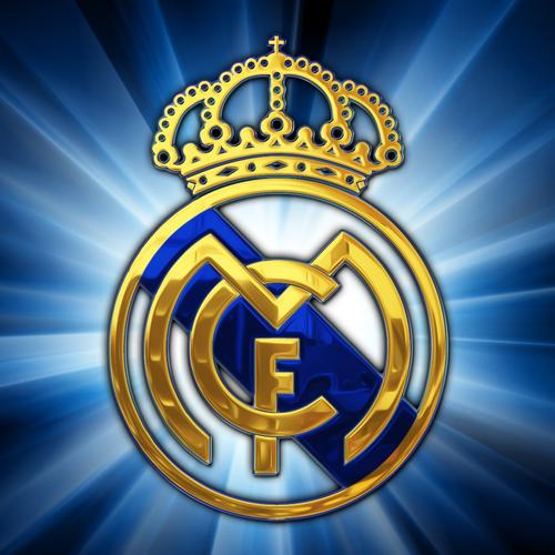 Real Madrid logo behang