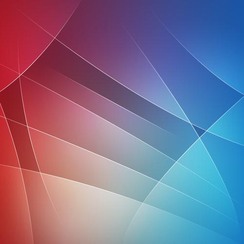 Red and blue lines wallpaper