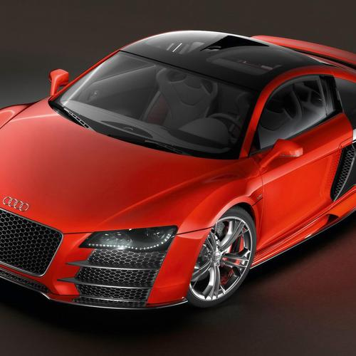 Red Audi R8 Tdi Le Mans wallpaper