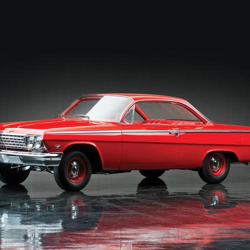 Red Chevrolet Bel Air Sport Coupe sfondo