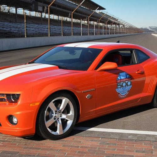 Red Chevrolet Camaro Indianapolis 500 Pace Car wallpaper