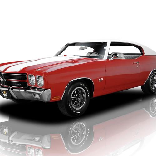 Red Chevrolet Chevelle Ss 396 wallpaper