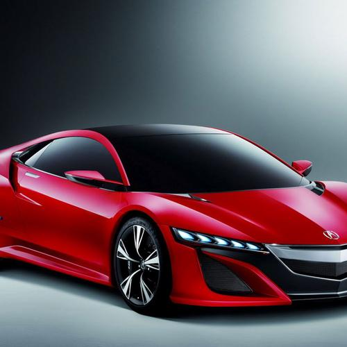 Red concept Acura car wallpaper