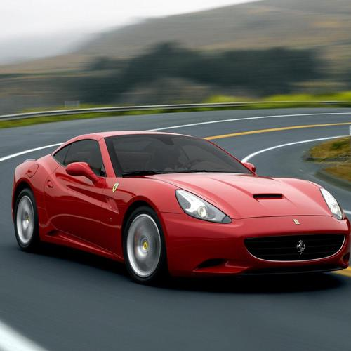 Red Ferrari california wallpaper