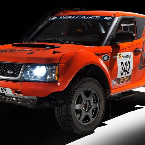 Red Land Rover Bowler EXR S 2012 wallpaper