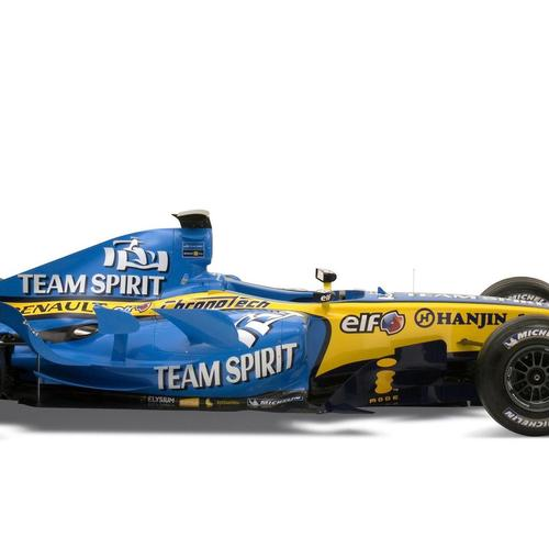 Renault F1 racing car wallpaper