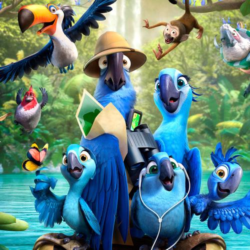Rio 2 movie 2014 wallpaper
