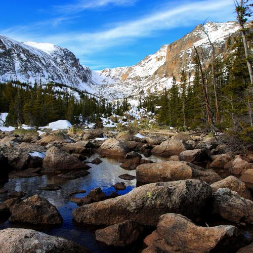 Rocky Mountain Nationalpark hintergrund