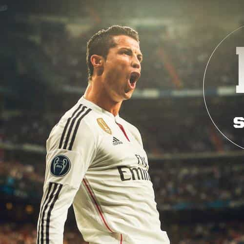 ronaldo real madrid soccer shout roar sports