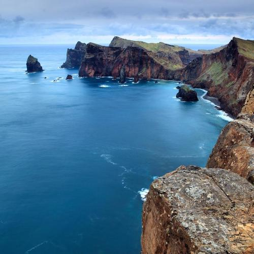 Rugged Seacoast On Madeira Portugal wallpaper