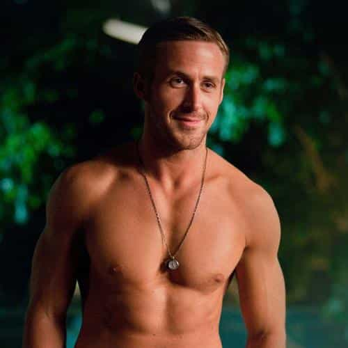 ryan gosling shirtless topless sexy