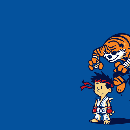 Ryu in Street Fighter