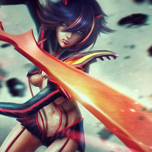 Ryuko Kill La Kill behang