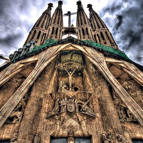 Sagrada Familia Church wallpaper