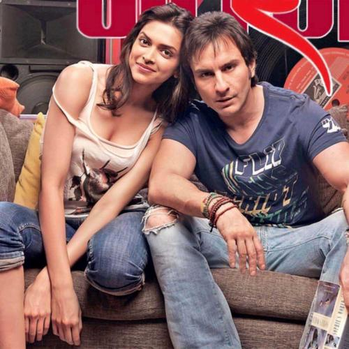 Saif Ali Khan with Deepika wallpaper