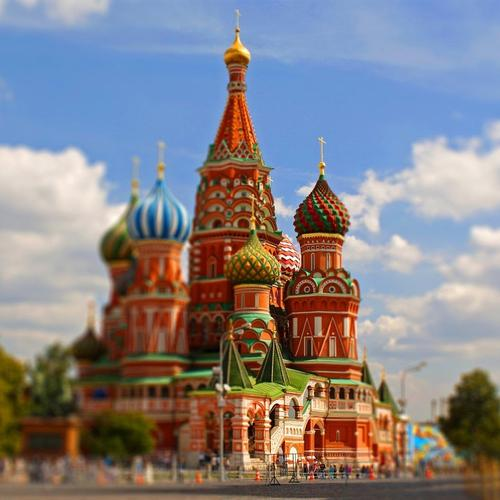 Saint Basil's Cathedral Moscow, Russia wallpaper