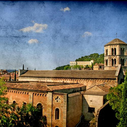 Download Sant Pere De Galligans in Girona High quality wallpaper