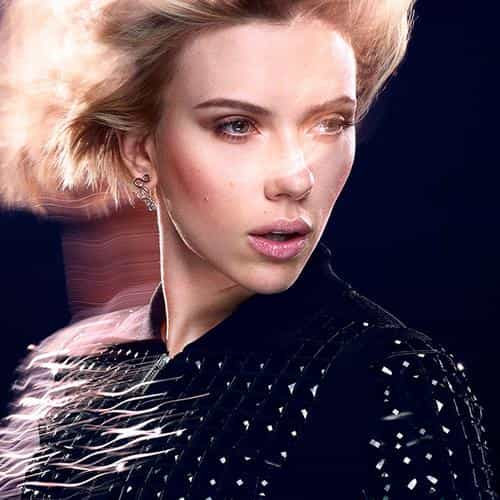 scarlett johansson actress celebrity model photoshoot
