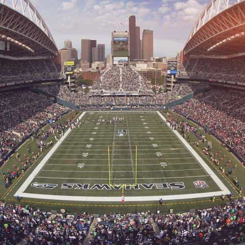 seahawks seattle sports stadium football nfl