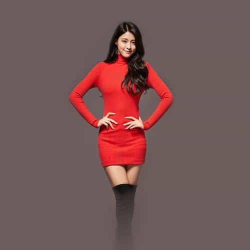 seolhyun aoa red christmas cute music