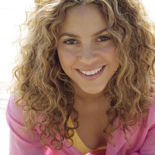 Shakira with bright smile