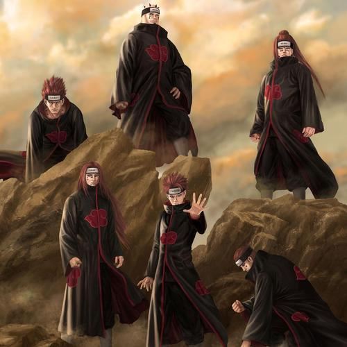 Six paths of pain naruto wallpaper