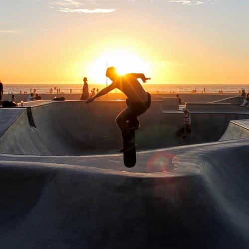 skateboard extreme sports summer