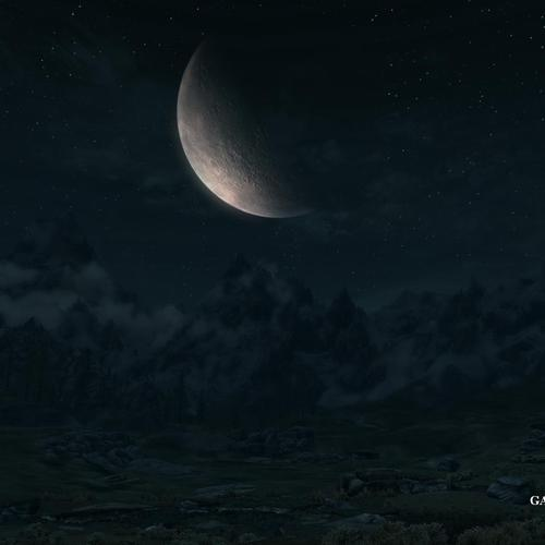 Skyrim night