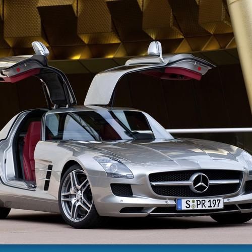 Sls mercedes benz wallpaper