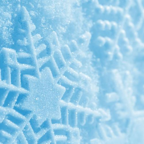 Snowflake print wallpaper