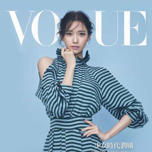 snsd kpop girl yoona magazine photo