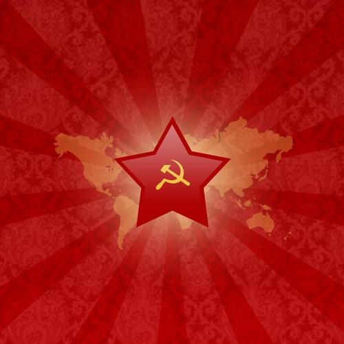 Soviet red star wallpaper
