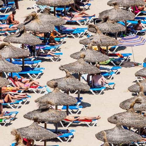 spain beach people nature sea summer