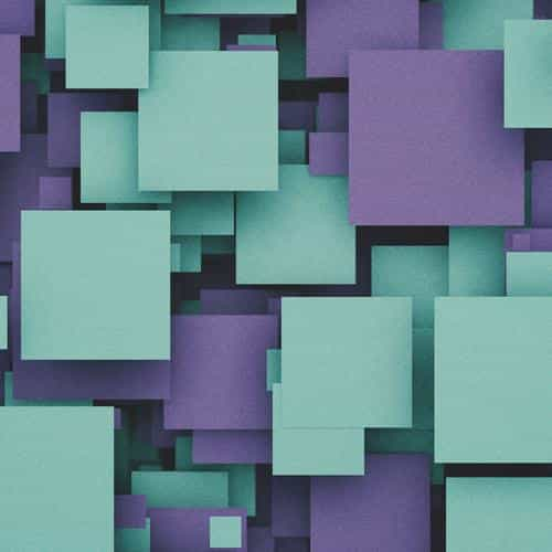square party purple pattern