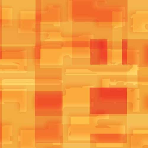 square world pattern orange yellow
