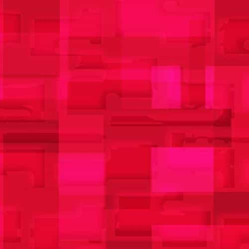 square world pattern red
