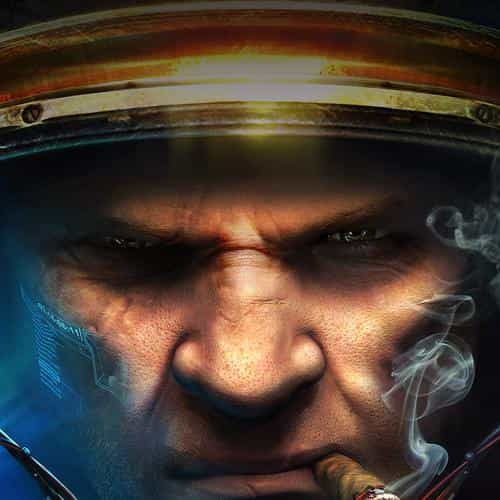 starcraft face art