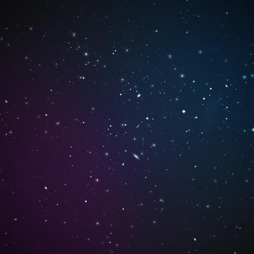 Stars in space wallpaper