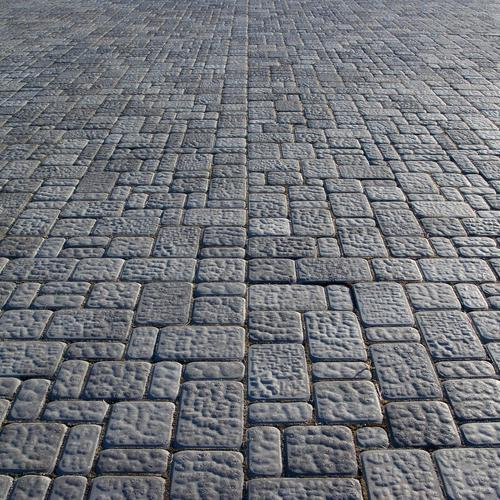 Stone pavement texture wallpaper
