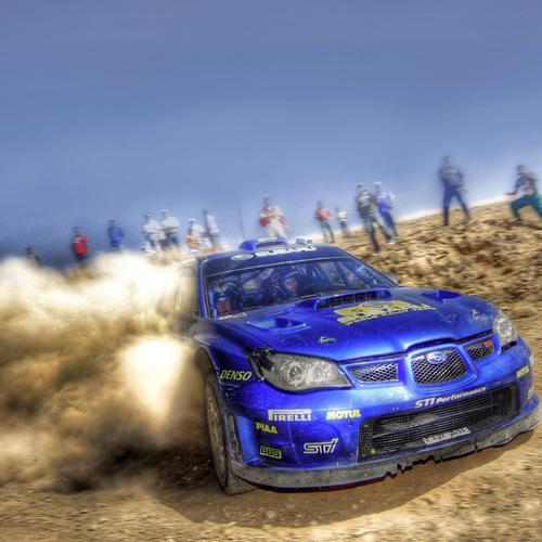 Subaru Impresa Wrc Rally Hdr wallpaper