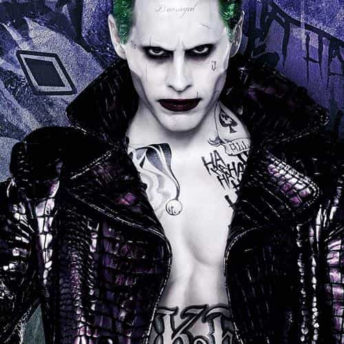 suicide squad jared leto art illustration joker