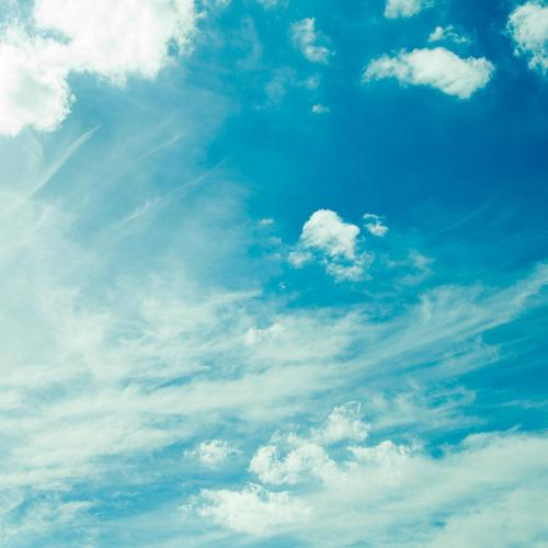 Summer blue sky wallpaper