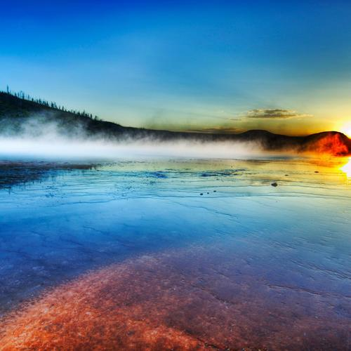 Sunrise Yellowstone