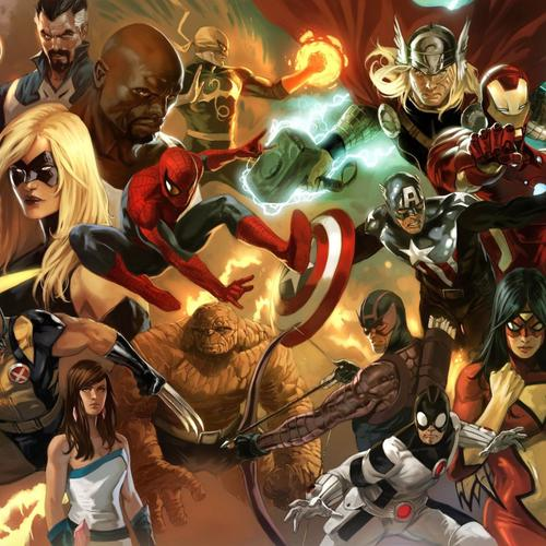 Супергерои в Marvel Comics обои