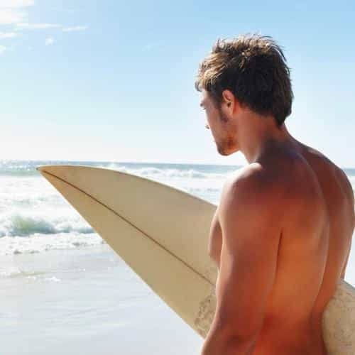 surf boy sea vacation ocean sunny summer