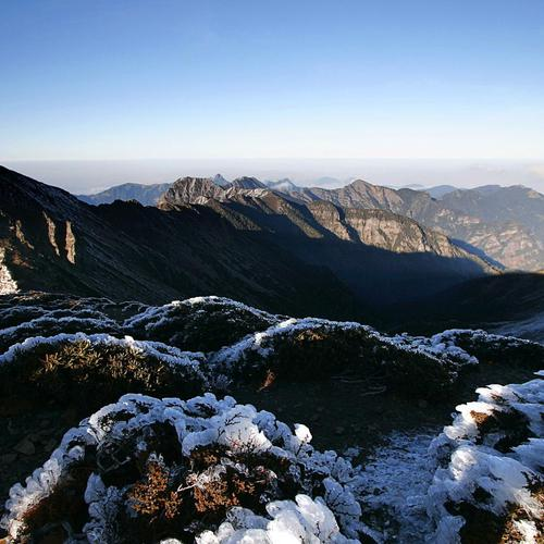 Syue mountains In Taiwan