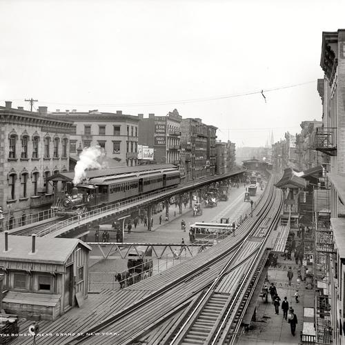 The Bowery New york 1900