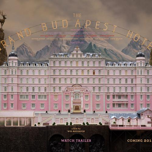 The Grand Budapest Hotel 2014 movie wallpaper